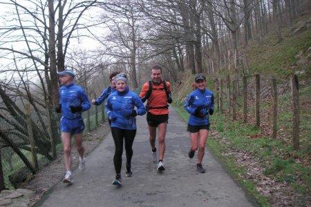 Corriendo la Donostia-Areso